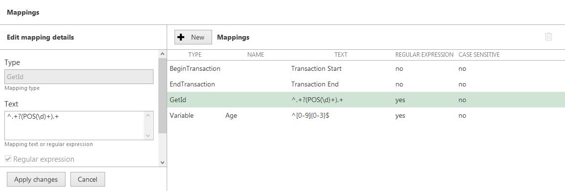 CORTROL3pos getid mapping - Split a single data stream between channels