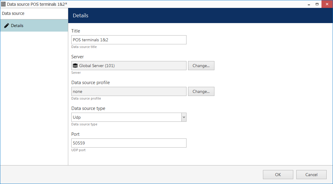 CORTROL4pos data source 1 - Split a single data stream between channels