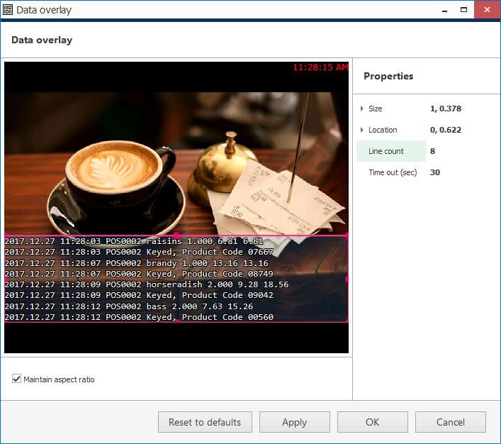 CORTROL7pos overlay - Split a single data stream between channels