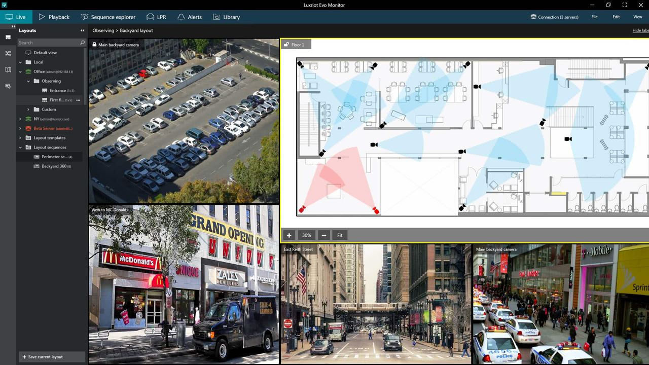 Monitor Live - CORTROL PRIME