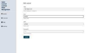 CORTROL LPR edit server 300x174 - LPR Module