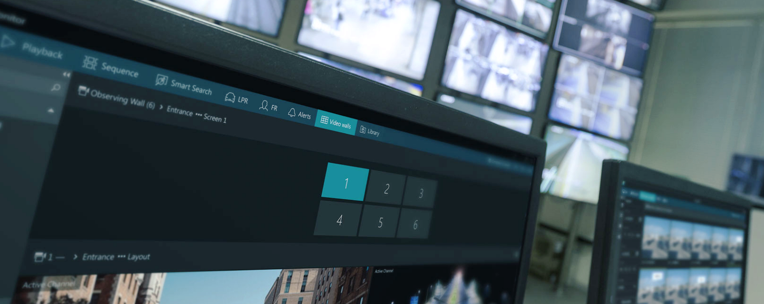 Wideo wall header - Video Wall in your Control Room